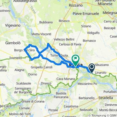 Da Via Giuseppe Garibaldi 15, San Leonardo a Viale Lungo Ticino Sforza 2, Pavia