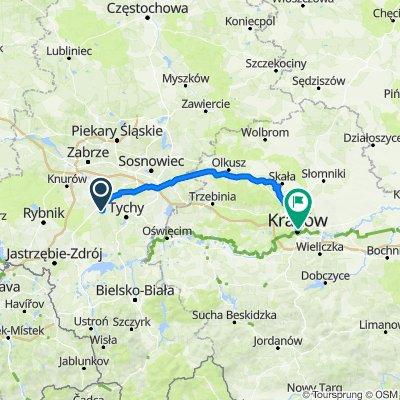 Gajowa 3, Łaziska Górne do epkk taxi way [new], Kraków