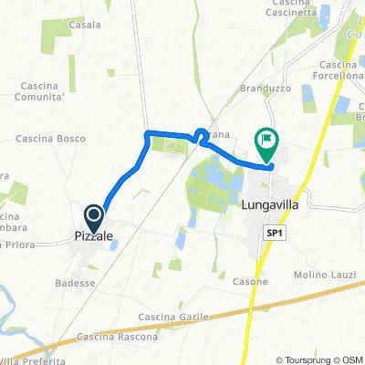 Da Via Ferraris 14, Pizzale a Via Umberto I 285, Lungavilla