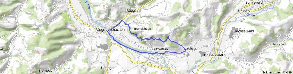 Haferbike: Brandis Trail