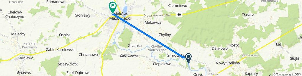 16A, Smrock-Dwór do Mikołaja Kopernika 14, Maków Mazowiecki