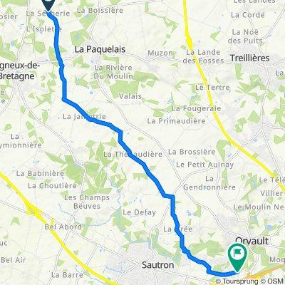 De La Sècherie, Vigneux-de-Bretagne à 22 Avenue de la Bugallière, Orvault