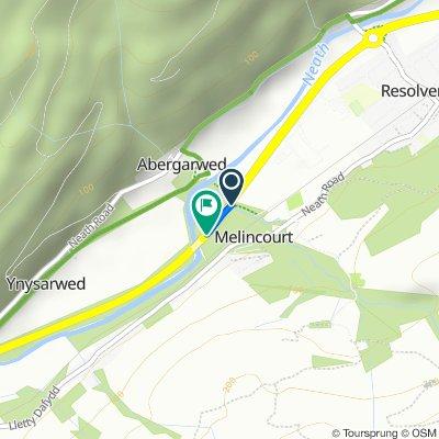 A465, Neath Port Talbot to A465, Abergarwed, Neath