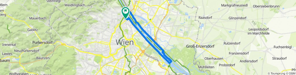 Leystraße 23, Wien to Forsthausgasse 15, Wien