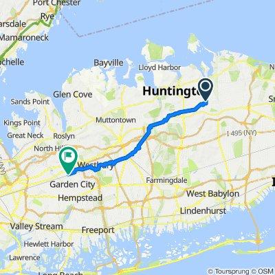 231 Broadway, Huntington to 1–99 Mineola Blvd Ext, Mineola