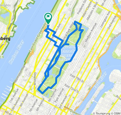 Riverside Dr, New York to Riverside Dr, New York