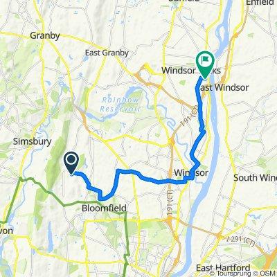 Maple Edge Drive 6, Bloomfield to School Street 16, Windsor Locks