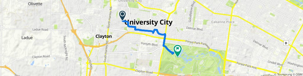 Purdue Ave, University City to 6141 Lagoon Dr, St. Louis