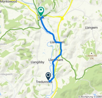 trial route to usk
