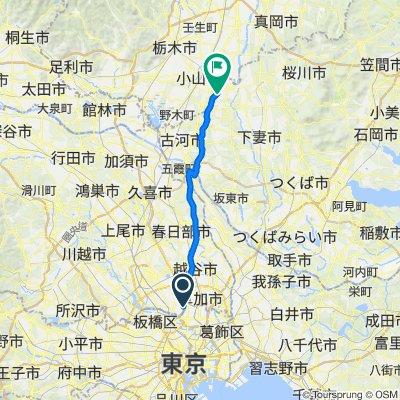 8-chōme 1, Adachi City to Yuki