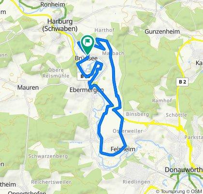 Brünsee 28A, Harburg (Schwaben) nach Brünsee 28A, Harburg (Schwaben)