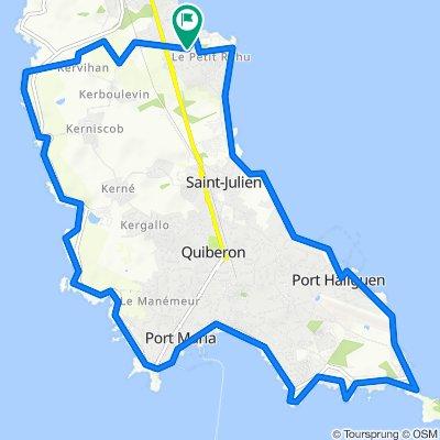 Saint-Pierre-Quiberon Course à pied