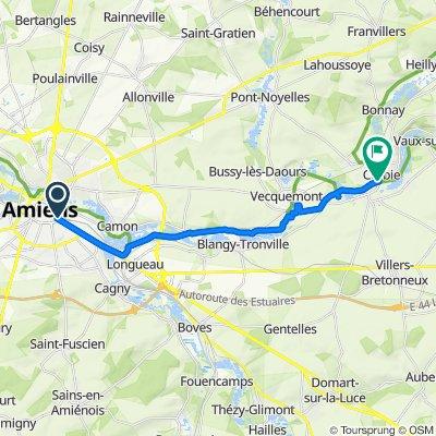 Amiens to Corbie
