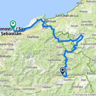 Stage 9 Elgorriaga - Donostia