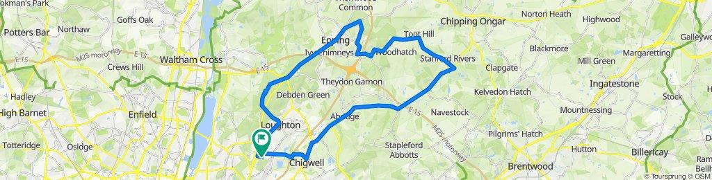 176A Queen's Road, Buckhurst Hill to 170 Queen's Road, Buckhurst Hill