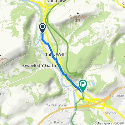 70 Cardiff Road, Cardiff to Merthyr Road, Tongwynlais, Cardiff