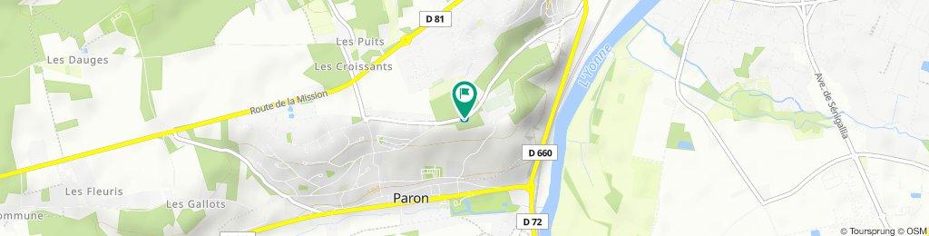 Rue de Saint-Bond, Paron nach Rue de Saint-Bond, Paron