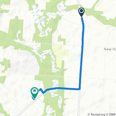 976–1132 Panther Rd, Vineland to 2389 Sanford Dr, Vineland