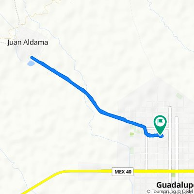 De Hidalgo 712, Ciudad Guadalupe Victoria a Hidalgo 712, Ciudad Guadalupe Victoria