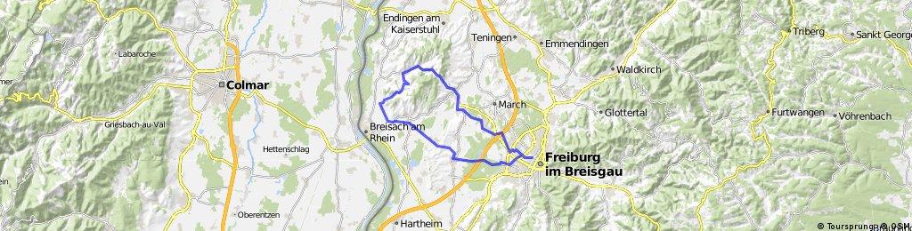 Freiburg - Merdingen - Bickensohl - Bötzingen - Freiburg
