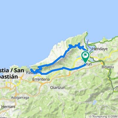 20200831 Irún - Hondarribia - Jaizkibel - Lezo - Irún