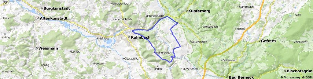 Kulmbach - Ludwigschorgast - See - Hegnabrunn - Trebgast - Kulmbach
