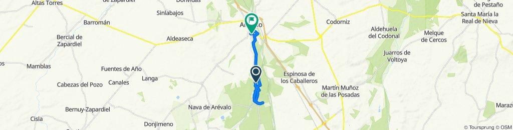 De AV-804 38, Arévalo a Avenida Severo Ochoa 23, Arévalo