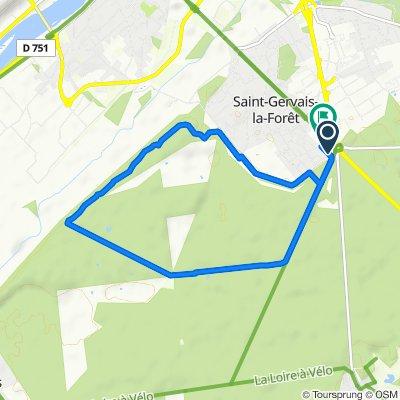 De 8 Rue de la Mardelle, Saint-Gervais-la-Forêt à 8 Rue de la Mardelle, Saint-Gervais-la-Forêt