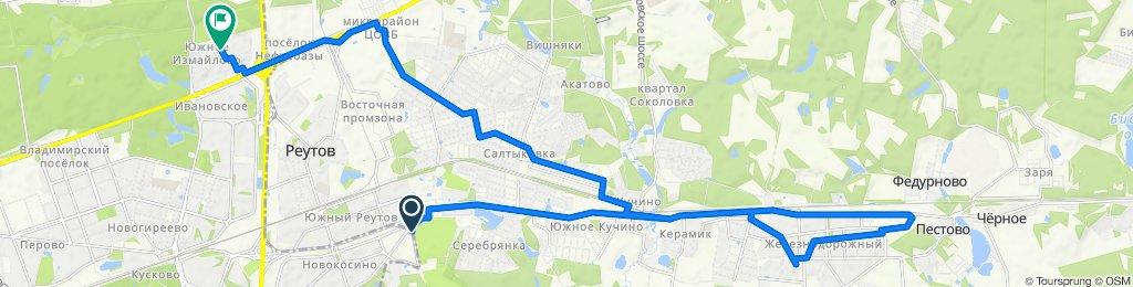 Концеавгустовские летние 2 жаркие велодоставки в Железнодорожный 31 08 2020