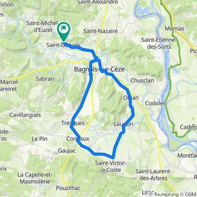 De 30 Chemin des Célettes, Saint-Gervais à 14 Chemin des Célettes, Saint-Gervais