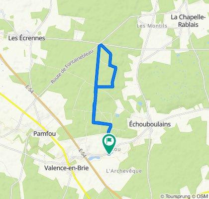 De 11 Rue du Moulin, Echouboulains à 11 Rue du Moulin, Echouboulains