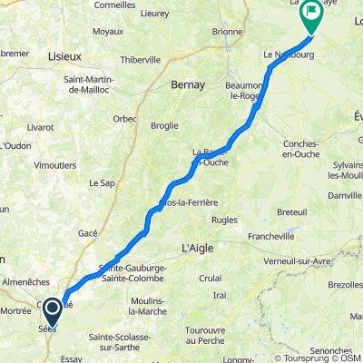 De Le Moulin du Val, Sées à 2 Chemin de Castille, Cesseville