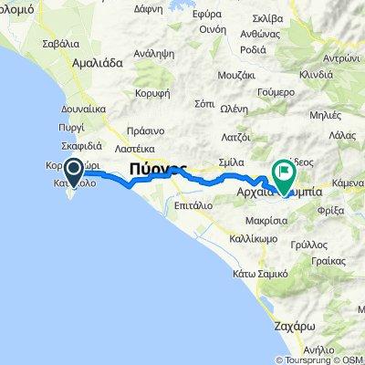 Route von Katakolou, Katakolo
