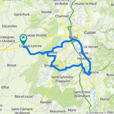 De Chemin des Retords 15, Cognat-Lyonne à Chemin des Retords 15, Cognat-Lyonne