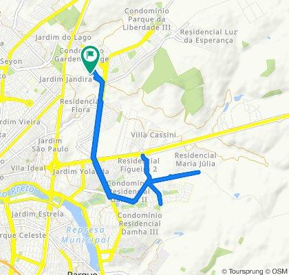 De Via de Acesso Cinco, São José do Rio Preto a Via de Acesso Seis, São José do Rio Preto