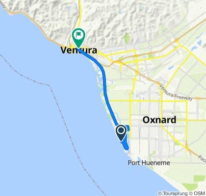 119 Los Altos St, Oxnard to 60 S California St, Ventura