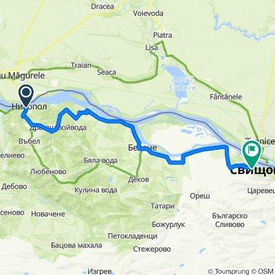 05c Nikopol - Belene - Svishtov 53km