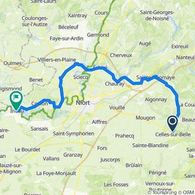 De 1–6 Rue du Chêne, Celles-sur-Belle à 1bis–41 Grande Rue, Le Vanneau-Irleau