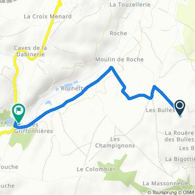 De 271–447 Rue des Cordeaux, Seigy à Moulin de Bout de Chien, Seigy