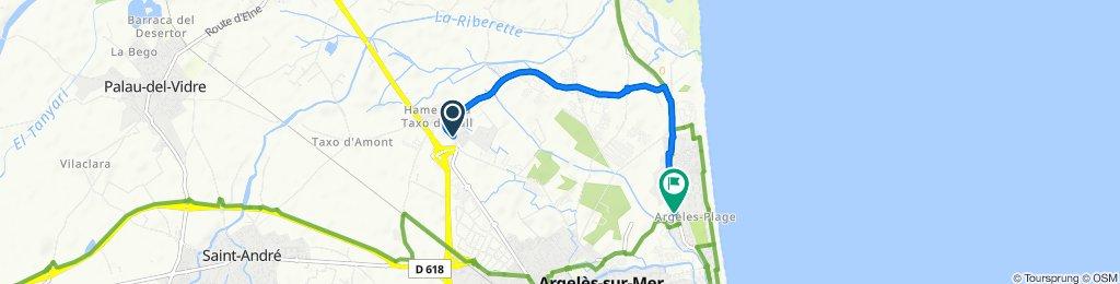 De 2bis Rue Albert Saisset, Argelès-sur-Mer à 537 Avenue du Tech, Argelès-sur-Mer