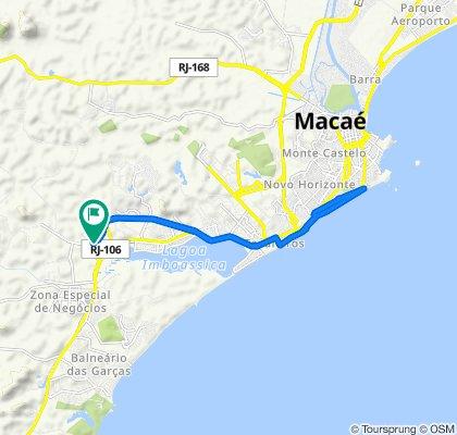 De Estrada Municipal MC-088, 402–580, Macaé a Estrada Municipal, 36, Macaé