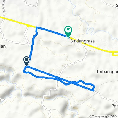 Jalan Otto Iskandardinata, Ciamis to Jalan Jenderal Sudirman, Ciamis