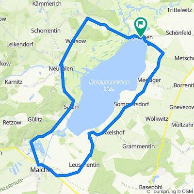 Rund um den Kummerower See