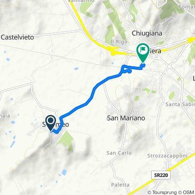 De Via Orazio Antinori 6, Solomeo a Via Aldo Capitini, Corciano