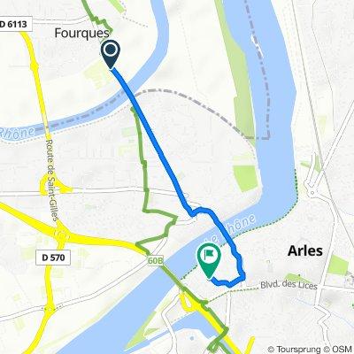 De Mas Saint-Michel, Fourques à 47 Rue de la Roquette, Arles