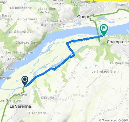 De Queue de Luce, La Varenne à D751, Champtoceaux