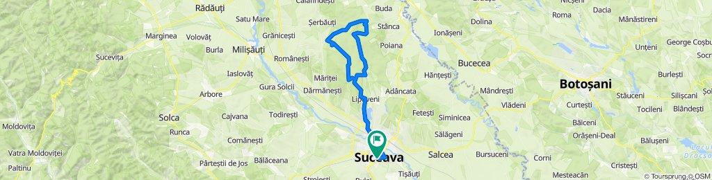 Lipoveni - Dragomirna - Calinesti - Suceava