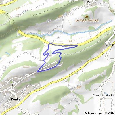 Vallée des mercureaux, Fontain