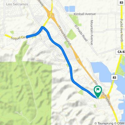 17789 Blake Ln, Chino Hills to 6476 Via Del Rancho, Chino Hills