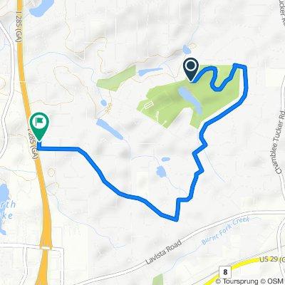 4000 Henderson Park Rd, Tucker to 2585 Salem Crossing, Tucker